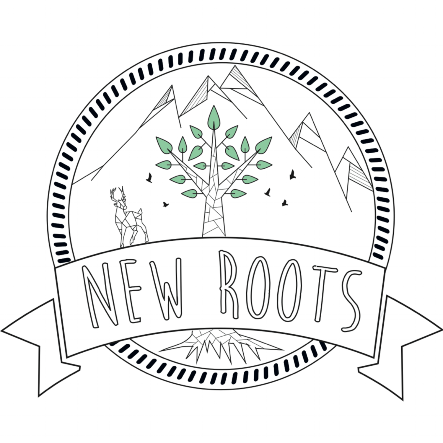 new roots logo
